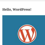 [WordPress]非公開ブログの設定